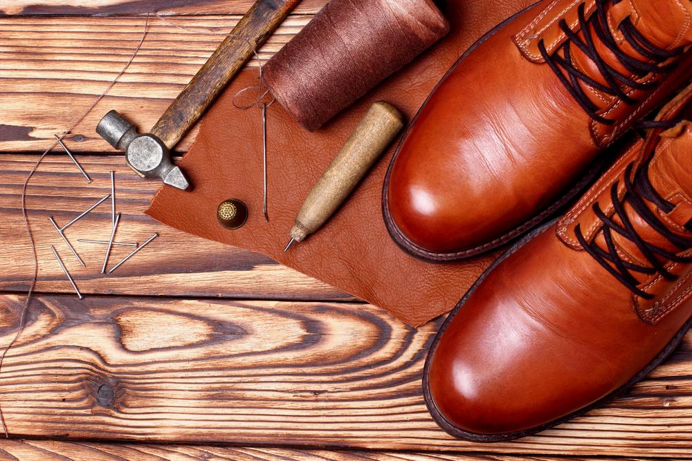 Leatherworking for shoe repairs